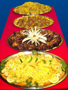 Chinese catering dishes